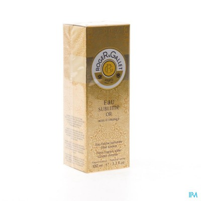 Roger&gallet Bois Orange Subliem Water Or 100ml