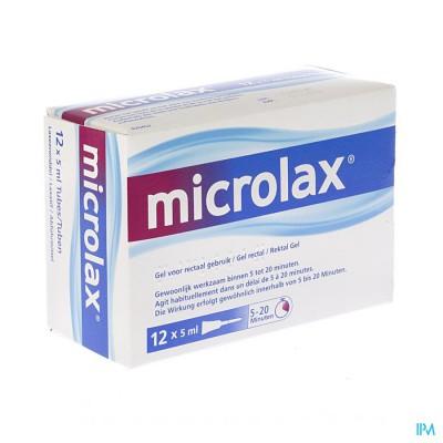 Microlax 12 X 5ml