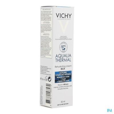 Vichy Aqualia Rijke Creme Reno 30ml