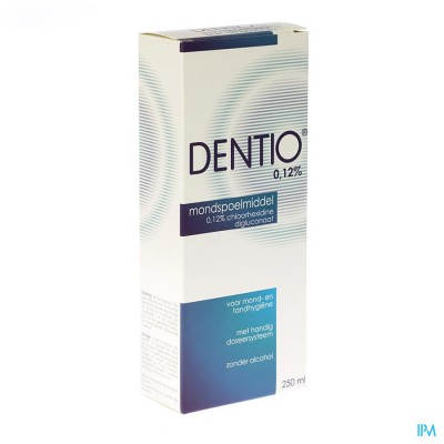 Dentio Blauw 0,12% Mondspoelmiddel 250ml