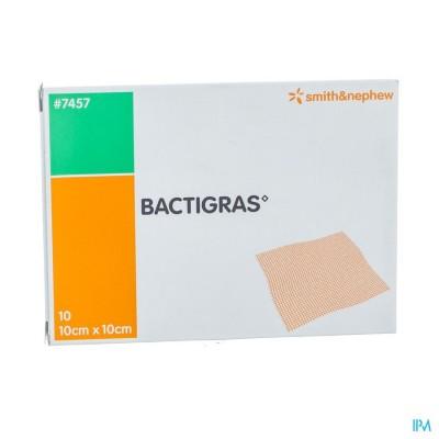 Bactigras Verband 10cmx10cm 10 7457