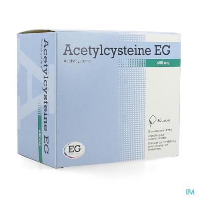 Acetylcysteine Eg 600mg Gran. Vr Drank Zakje 60