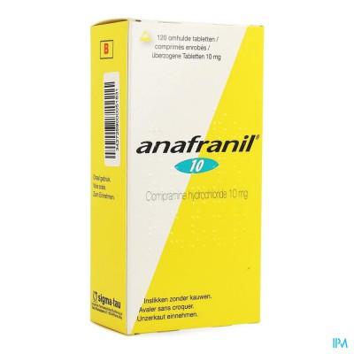 Anafranil 10mg Filmomh Tabl 120 X 10mg