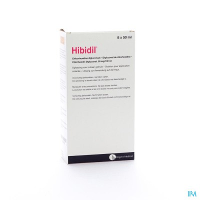 Hibidil Sol 8x50ml Ud Bottelpack