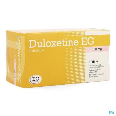 Duloxetine Eg 30mg Maagsapresist Caps 98