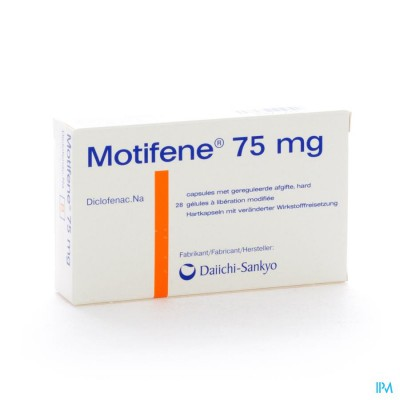 Motifene Caps 28 X 75mg