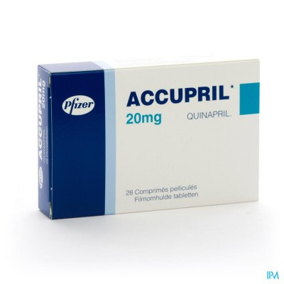 Accupril Comp 28 X 20mg