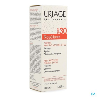 Uriage Roseliane Creme Anti Roodheid Ip30 40ml