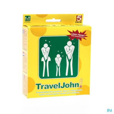 Travel John Braakzakjes 5x800ml