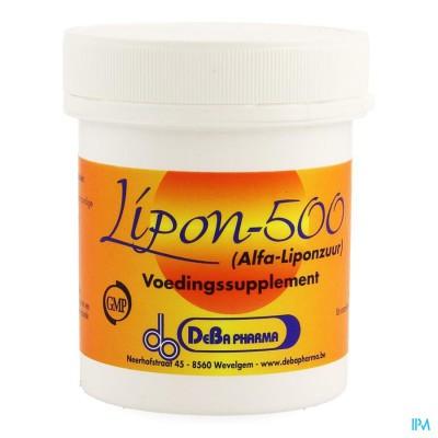 Lipon Caps 60x500mg Deba