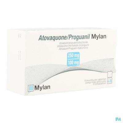 Atovaquone Proguanil Mylan Filmomh Tabl 48