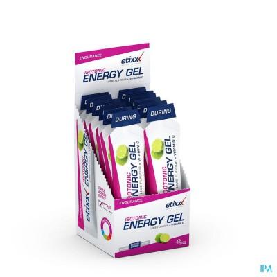 Etixx Isotonic Energy Gel Lime 12x40g