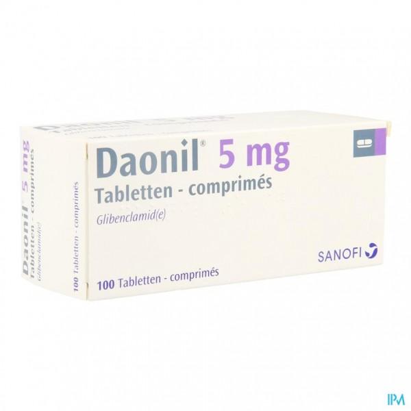 Daonil Comp 100 X 5mg