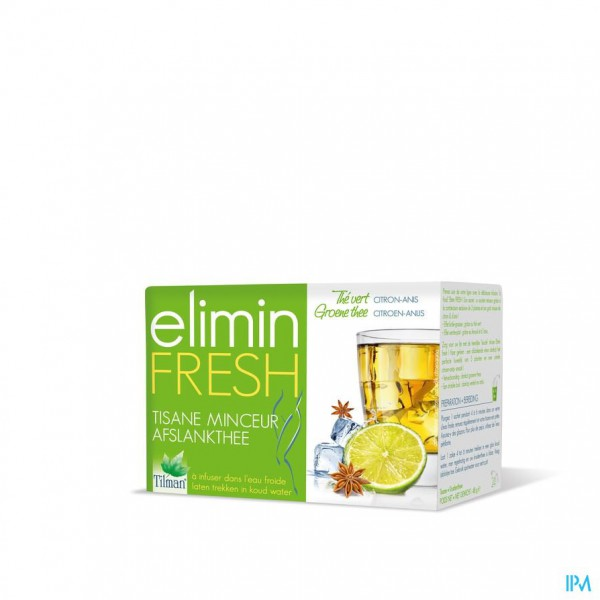 Elimin Fresh Citroen-anijs Tea-bags 24