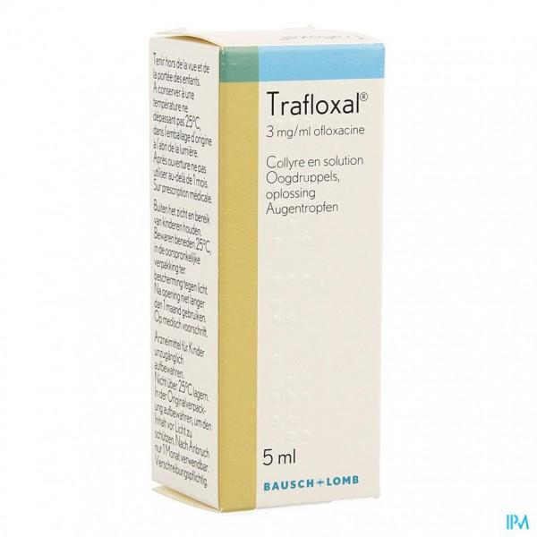 Trafloxal Collyre 5ml 3mg/ml