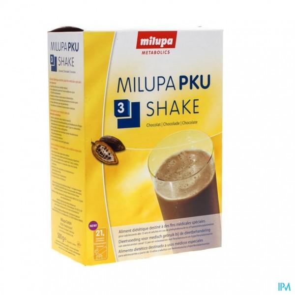 Pku 3 Shake Chocolade Zakje 10x50g