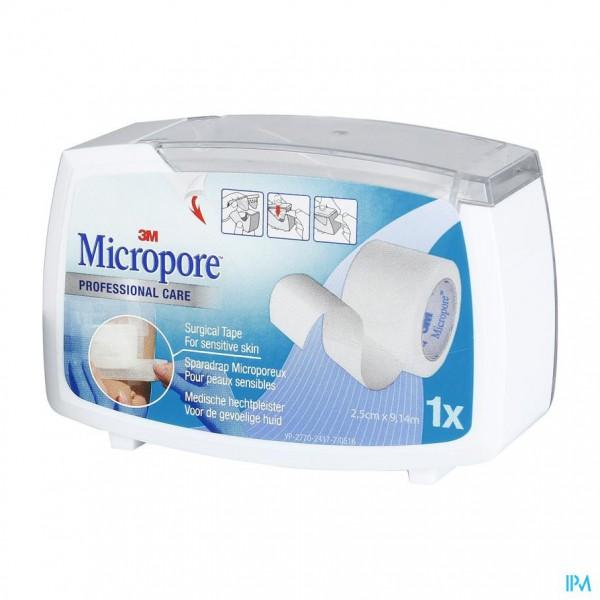Micropore 3m 25,0mmx9,1m Nieuwe Dispenser 1530p-1d